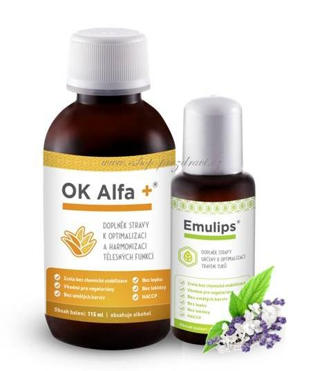 OK Alfa+ 115 ml Emulips 50 ml