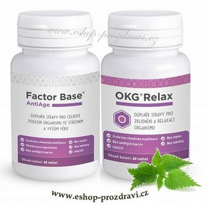 Factor Base AntiAge 60 tbl. + OKG Relax (60 tbl.