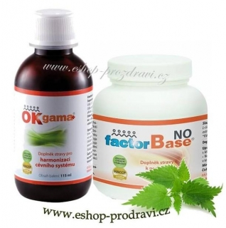 OKG Factor Base NO 150 g + Ok Gama+ 115 ml