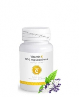 Vitamín C 500 mg Excellens 60 tbl.