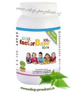 OKG Factor Base Kids XXL 180 tbl.