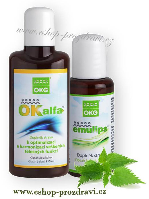 OKG OK Alfa 115 ml + Emulips 50 ml