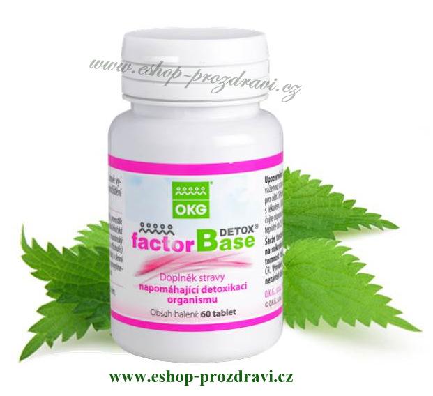 Factor Base DETOX 60 tbl. (detoxikace a pročištění organismu)