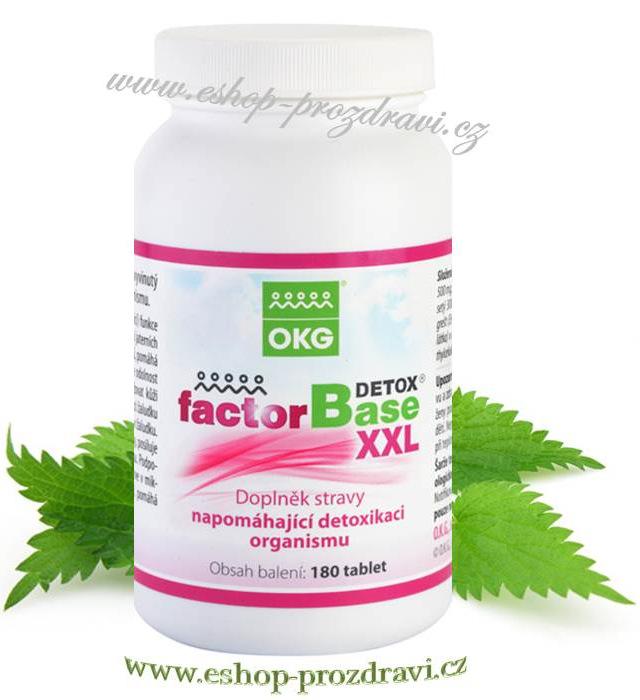 Factor Base Detox XXL 180 tbl. (detoxikace a pročištění organismu)