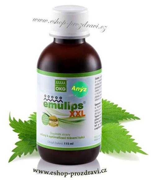 OKG Emulips XXL Anýz - 115 ml (kojení, nadýmání, žlučník, hubnutí)