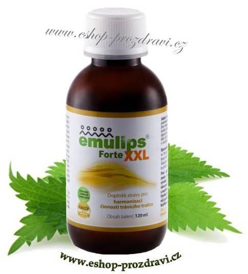Emulips Forte XXL 120 ml (zažívání, hubnutí, cévy, cholesterol)