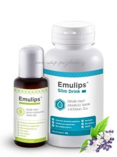 OKG Emulips 50 ml + Emulips Slim Drink 60g